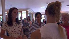 VIDEO: Historický zážitek pro Kerberovou, gratulovaly jí vévodkyně. Zatančí si obrem?