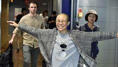 Čína umožnila emigrovat vdově po disidentovi, který obdržel Nobelovu cenu míru