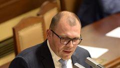 Novým místopředsedou sněmovny poslanci zvolili Tomáše Hanzela z ČSSD