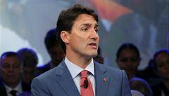 Kanadský premiér Trudeau nepřípustně pomáhal velké stavební firmě, tvrdí etický komisař