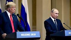 'Ukončete okupaci Krymu.' Putin odmítl setkání ve Washingtonu, Trump zahájil protiofenzivu