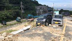 Japonsko a Jižní Koreu trápí klimatické extrémy. V jejich důsledku zemřelo více než 330 lidí