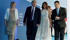 Trump večeřel se státníky NATO, probíralo se i sestřelení letu MH17