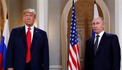 'Jsme v kontaktu.' Putin oznámil, že pozval Trumpa do Moskvy