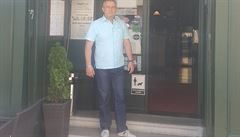 Mnoho přátel a mnoho piva. Majitel chorvatské restaurace v Praze se chystá na finále MS