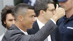 Ronaldo čelí obvinění ze znásilnění. Hvězdný fotbalista nařčení odmítá