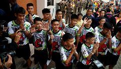 Film Jeskyně ukáže podrobnosti záchrany malých thajských fotbalistů