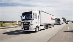V Německu už můžete na dálnici potkat kamiony bez řidiče. Jde o zkušební provoz
