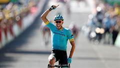 Po úniku vyhrál čtrnáctou etapu na Tour Omar Fraile, vedení udržel Thomas