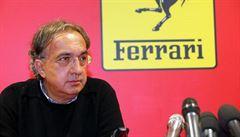 Marchionne končí v čele Ferrari, to však nechce měnit nastolenou filozofii