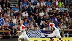 Slavia smetla Olomouc 3:0, brankou k vítězství pomohla i nová posila Coufal