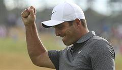 Molinari jako první Ital ovládl golfový major, Woods po slibném úvodu končí šestý