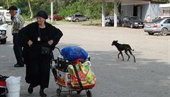 SMS Petry Procházkové z Kavkazu: Abcházie je zásobovaná jako sovětský supermarket