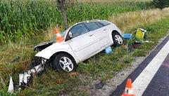 V červenci při nehodách zemřelo 53 lidí, o 8 více než loni. Od začátku roku je 286 obětí