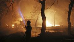 Běženci při požáru zachránili desítky životů. Řecko jim udělilo občanství