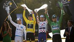 Cyklisté byli na Tour pod přísným dohledem, kola v sobě motorky neměla