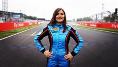 Návrat ženy do formule 1 se blíží. 'Po mužích toho žádám hodně,' říká mladá Kolumbijka