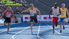 Česká štafeta ve finále na 4 x 100 metrů neodstartovala, Vrzalová končí pátá