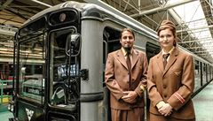 Příští stanice: Leninova. 'Zelená' trasa metra oslavila 40 let jízdou sovětské soupravy