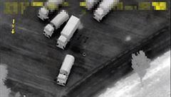 Přes rusko-ukrajinskou hranici přejíždějí 'náklaďáky' mimo oficiální přechody, odhalily drony