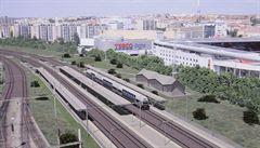 V Praze vznikne čtyřkolejná železnice. Vlaky na ní zrychlí až na 120 km/h, přibudou nové stanice