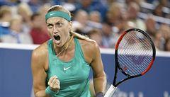 Kvitová jde do 3. kola US Open. O osmifinále si zahraje i Vondroušová a Siniaková