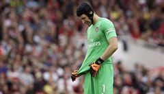 Petr Čech v úvodním zápase nezklamal, fanoušci ho ale v brance nechtějí