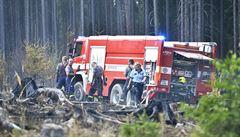Požár lesa na Plzeňsku je pod kontrolou, zasahovalo až 130 hasičů