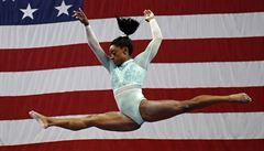 'Jen jsem seděla a plakala,' řekla Bilesová o odložení olympiády. Letos plánovala skončit