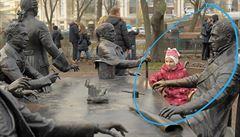 V Petrohradě omylem postavili sochu skotskému chemikovi. Spletli si ho s architektem města