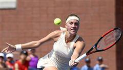 US Open: Kvitová přejela Wickmayerovou. Veselý odstoupil, Kristýna Plíšková končí