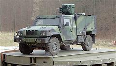Ministerstvo obrany uzavřelo smlouvu na 80 aut pro chemiky za pět miliard