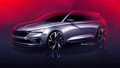 Škoda v Paříži představí studii nástupce Rapidu. Vůz Vision RS má naznačit budoucí podobu sportovních modelů