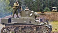 Bitva na Tankovém dni v Lešanech byla letos mimořádná, podívat se na ni přišlo 20 tisíc lidí