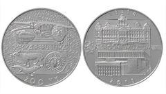ČNB vydá dvousetkorunovou minci k výročí založení Národního muzea