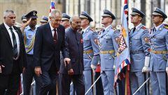 Indický prezident je na návštěvě Česka, země chtějí úžeji spolupracovat