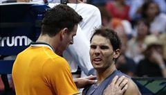 To, co jsem předváděl, to nebyl vůbec tenis, omlouval se kvůli skreči Nadal