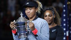 Šaškárna ve finále US Open. Serena urážela sudího, Ósakaová kvůli tomu první grandslam obrečela