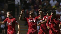 Nejlepší vstup za posledních 18 let pro Liverpool, bez porážky je zatím i Chelsea