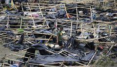 Tajfun Mangkhut na Filipínách připravil o život nejméně 64 lidí, počet obětí se může vyšplhat ke stovce