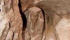 Archeologové objevili v jihoegyptském Asuánu sfingu zřejmě z období Ptolemaiovců
