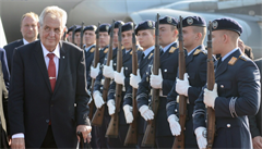 Zeman zahájil třídenní návštěvu Německa, v pátek bude jednat s německým prezidentem