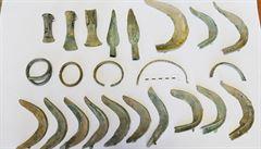 Pes vyhrabal poklad z doby bronzové. Výjimečný nález lidé uvidí v Kostelci nad Orlicí