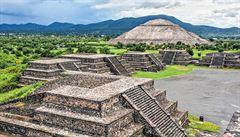 Vědci našli důkaz, že Mayové pobývali v posvátném Teotihuacánu
