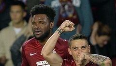 Sparta doma dala čtyři góly Boleslavi a posunula se na třetí místo před Baník