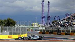 Dominance Mercedesu. Kvalifikaci F1 v Soči opanoval Bottas před Hamiltonem