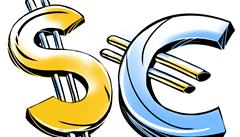 Euro oproti dolaru posiluje. Ten si ale dlouhodobě udržuje nadvládu
