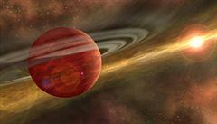 Čeští vědci objevili stopy sodíku u dvou exoplanet