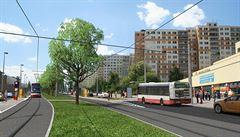 Praha se chystá na prodloužení tramvajových tratí, koleje povedou blíž k letišti
