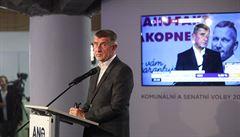 Hnutí ANO uspělo, Praha ale dobře nevypadá, chod vlády volby neovlivní, řekl Babiš